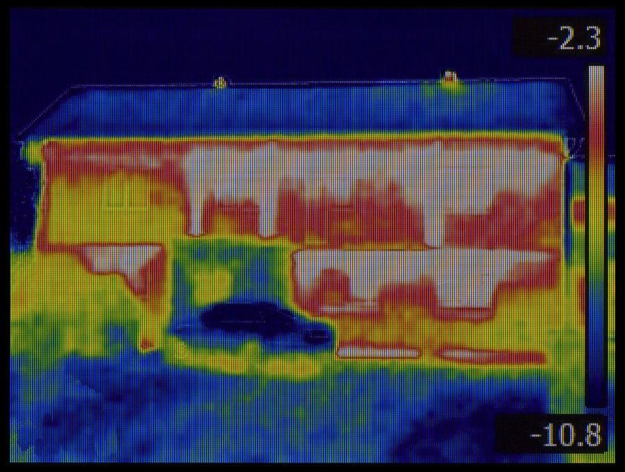 Détection de fuites thermiques